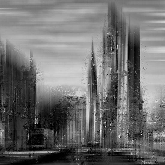 City-Art BERLIN City-West black&white van Melanie Viola