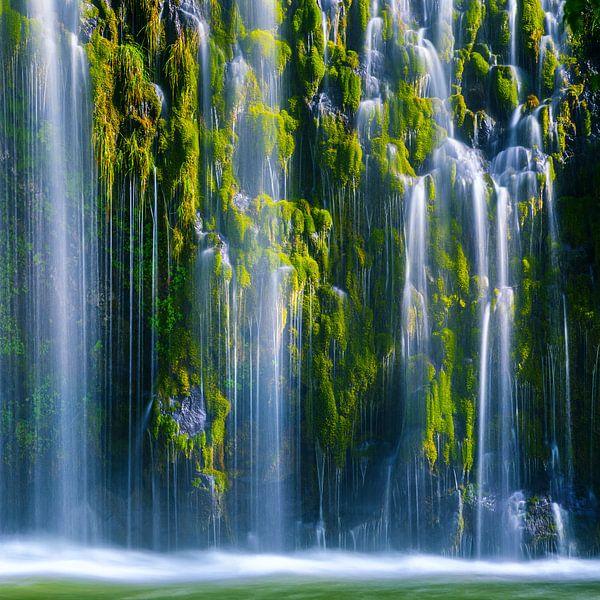 Mossbrae Waterval, Californie, USA van Henk Meijer Photography