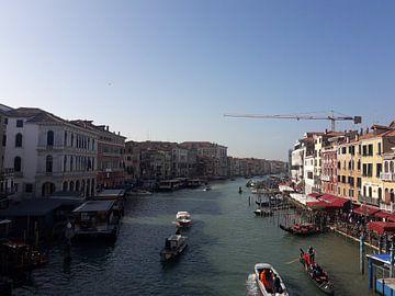 Rialto brug, Venetië van Fernando Jacobs