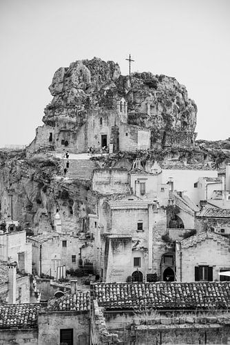 Kerk op de heuvel | Matera, Italie | Reisfotografie fine art