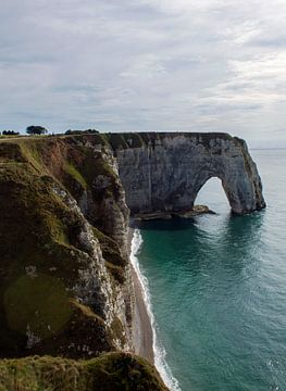 Mooie Franse kust van