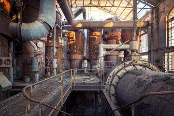 verlaten suikerfabriek van Kristof Ven