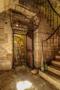 Verlassenes Chateau Larry Eyler, Frankreich