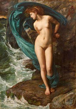 Edward Poynter - Andromeda, 1869 von Atelier Liesjes