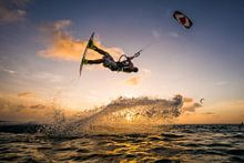 Kitesurfen collectie voorbeeld