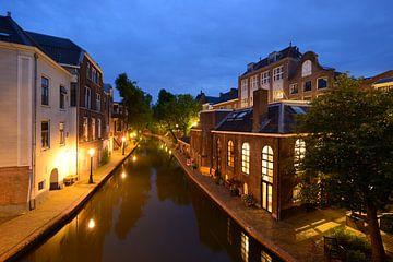 Voormalige bierbrouwerij De Boog aan de Oudegracht in Utrecht