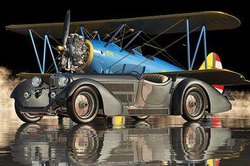 Mercedes - Benz SSK 710 Super Sport 1930