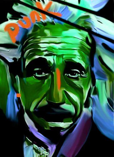 Albert Einstein Pop Art PUR Serie No.1