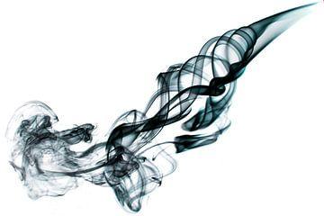 Abstracte afbeelding van rook von Liesbeth van Asseldonk