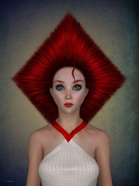 Queen of diamonds van Britta Glodde