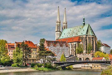 Sint-Pieterskerk in Görlitz, Duitsland van Gunter Kirsch