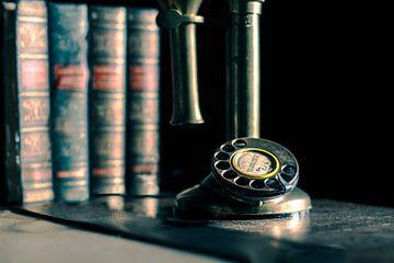 antikes Telefon von Bert-Jan de Wagenaar