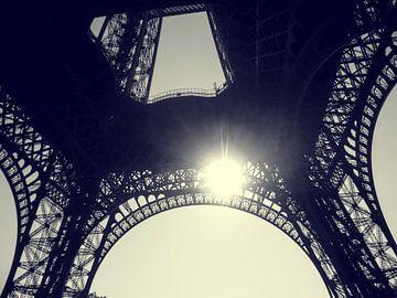Eiffeltoren in Parijs van Marlin van der Veen