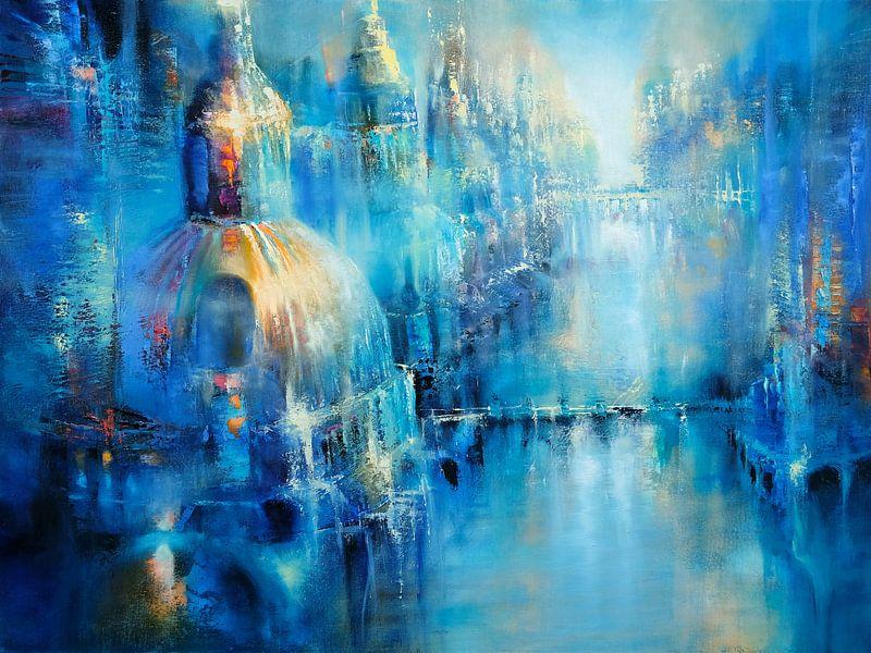 Die alte Stadt von Annette Schmucker