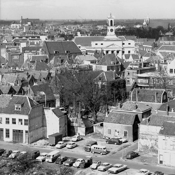 Dordrecht Stadhuis van Dordrecht van Vroeger