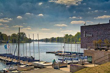 Münster - Blick auf den Aasee vom Yachthafen von Maximilian Prinz Hohenlohe