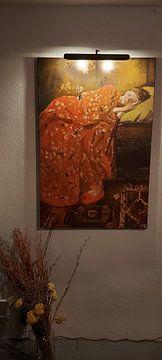 Kundenfoto: George Hendrik Breitner. Der rote Kimono