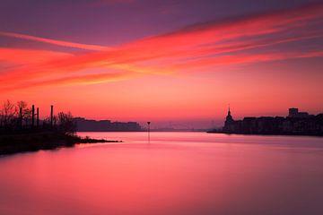 Dordrechter Sonnenaufgang von Frank Peters