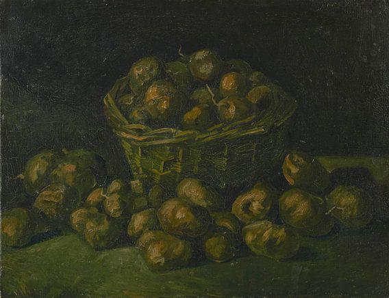 Vincent van Gogh, Mand met aardappels van 1000 Schilderijen