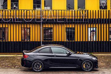 BMW M2 CS zijaanzicht van Bas Fransen