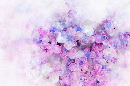 Bloemen 10 van Silvia Creemers