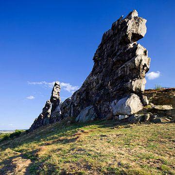 Teufelsmauer von Jaspar Moulijn
