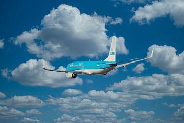 KLM Boeing 737-800, Registrierung PH BCL, Name kroatische Ente von Gert Hilbink