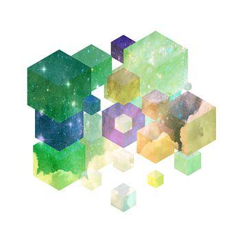 Fly Cube N1.4 van Olis-Art