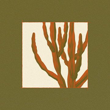 Kaktus (Euphorbia-Ammak)-Baum von Klaudia Kogut