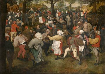 Der Tanz der Braut, Pieter Bruegel der Ältere