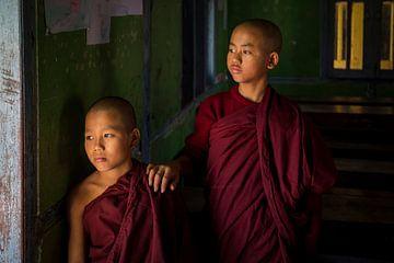 jonge monniken van Antwan Janssen
