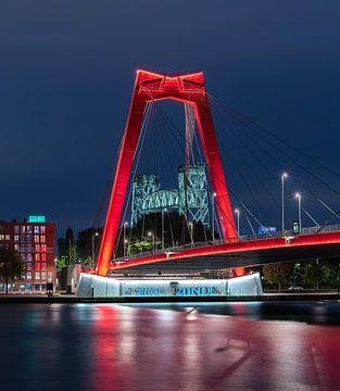 Willemsbrug en De Hef van Jeroen Kleiberg