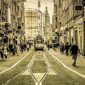 Leidsestraat in Amsterdam von Francisca Snel (Cissees)