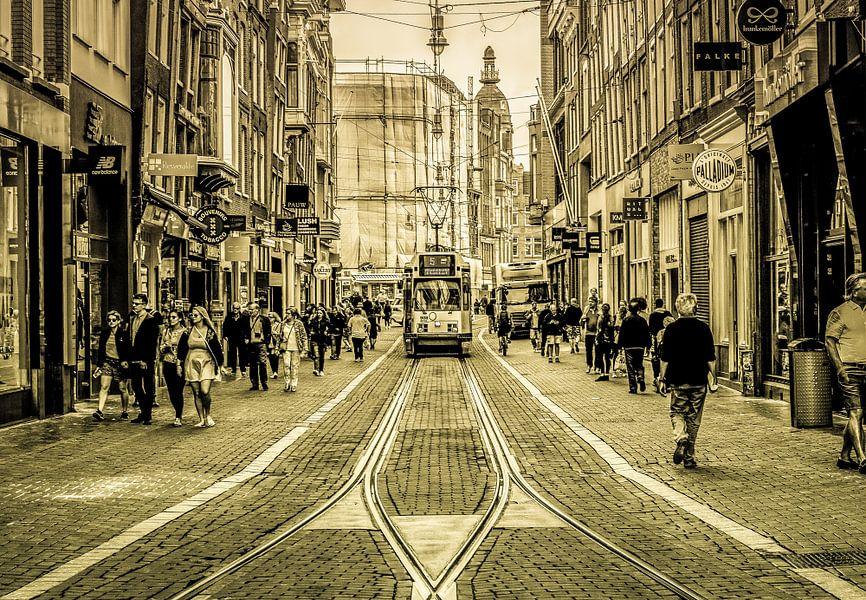 Amsterdamse Leidsestraat van Francisca Snel (Cissees)