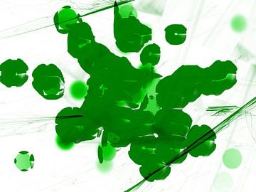 The Locusts green van Judith Robben