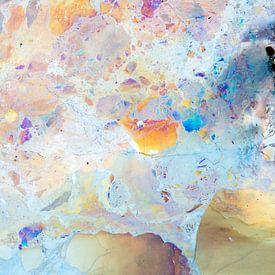 Kwel water met kleur van ijzerbacterien van Mark Scheper