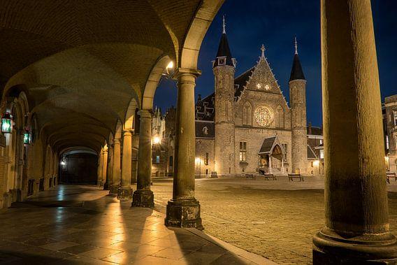 Den Haag: De Ridderzaal bij nacht