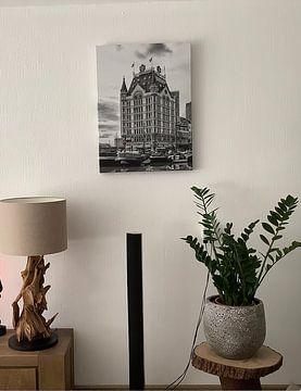 Klantfoto: Oude Haven met het Witte Huis in Rotterdam van Don Fonzarelli