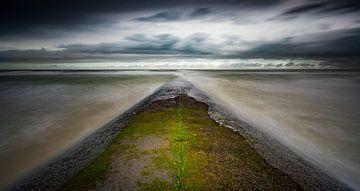 Wellenbrecher von Sam Mannaerts Natuurfotografie
