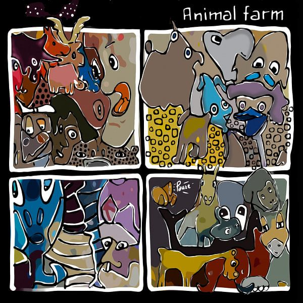 Animal farm or the zoo? van Henk van Os