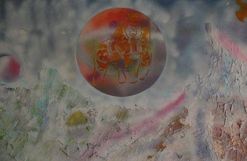 Wild Landscape detail 2 sur Toekie -Art