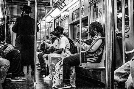 Subway Manhattan New York City von Eddy Westdijk
