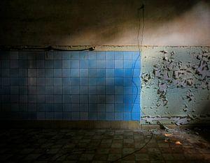 De vergaande muur