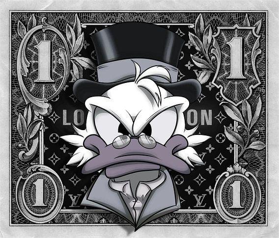 1 Dollar Dagobert Mc Duck LV