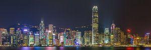 Hong Kong by Night - Skyline by Night - 1