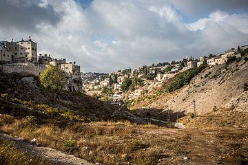 Jeruzalem gezien vanuit de vallei van Herman IJssel BWPHOTO