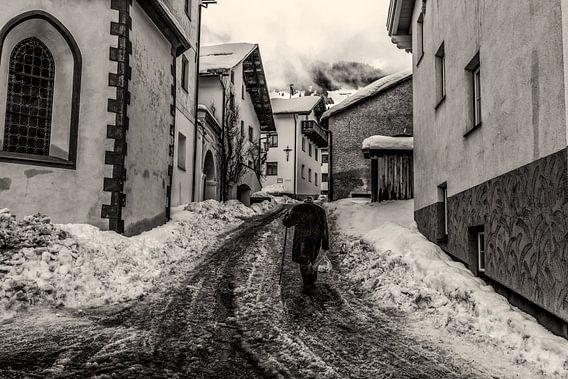 Winter in Zwart-Wit