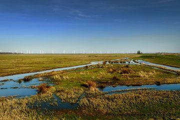 Niederländische Landschaft: Eempolder von Mark de Weger