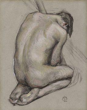 Contemplatie - vroeg 20e eeuw van Atelier Liesjes