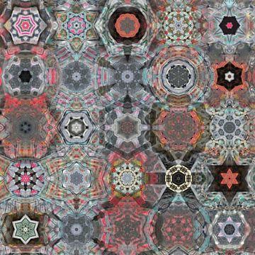 Kaleidoscope IV van Maurice Dawson
